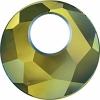Swarovski Pendant 6041 Victory 38mm Iridescent Green Crystal